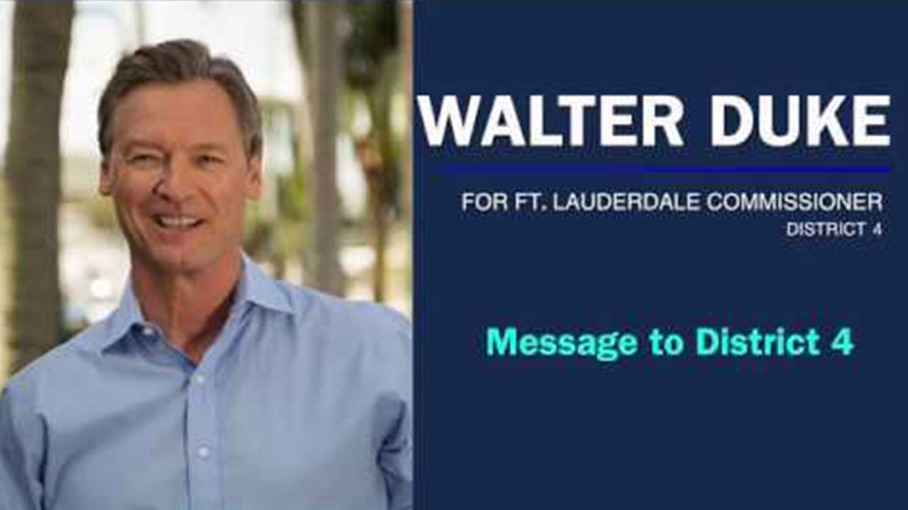 Walter Duke Message to District 4