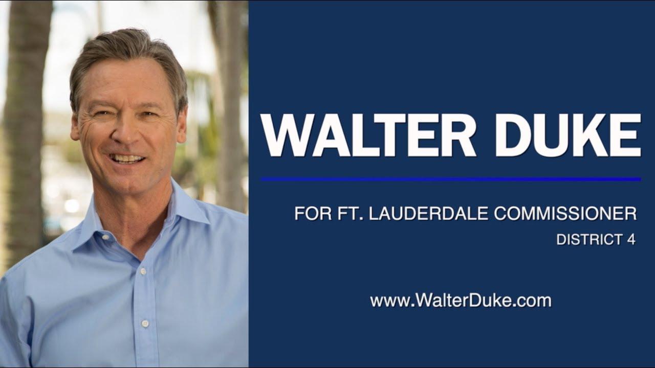 Walter Duke for For Fort Lauderdale