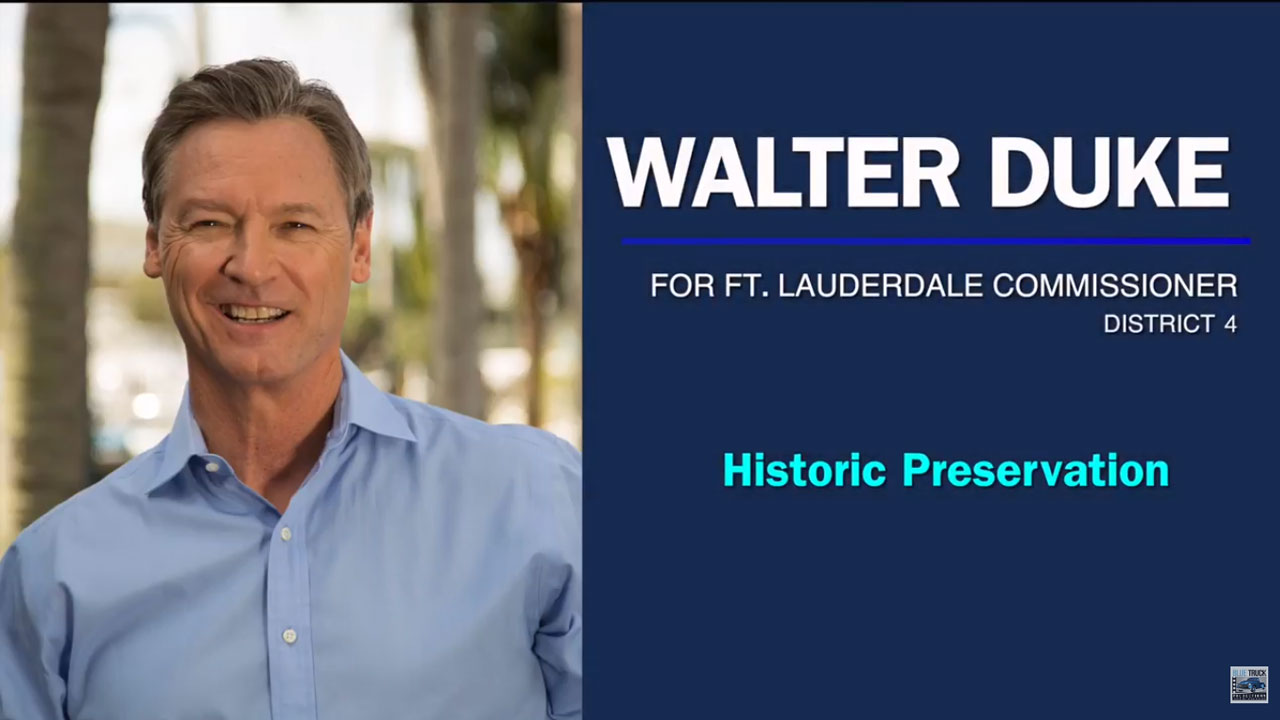 Walter Duke on Historic Preservation