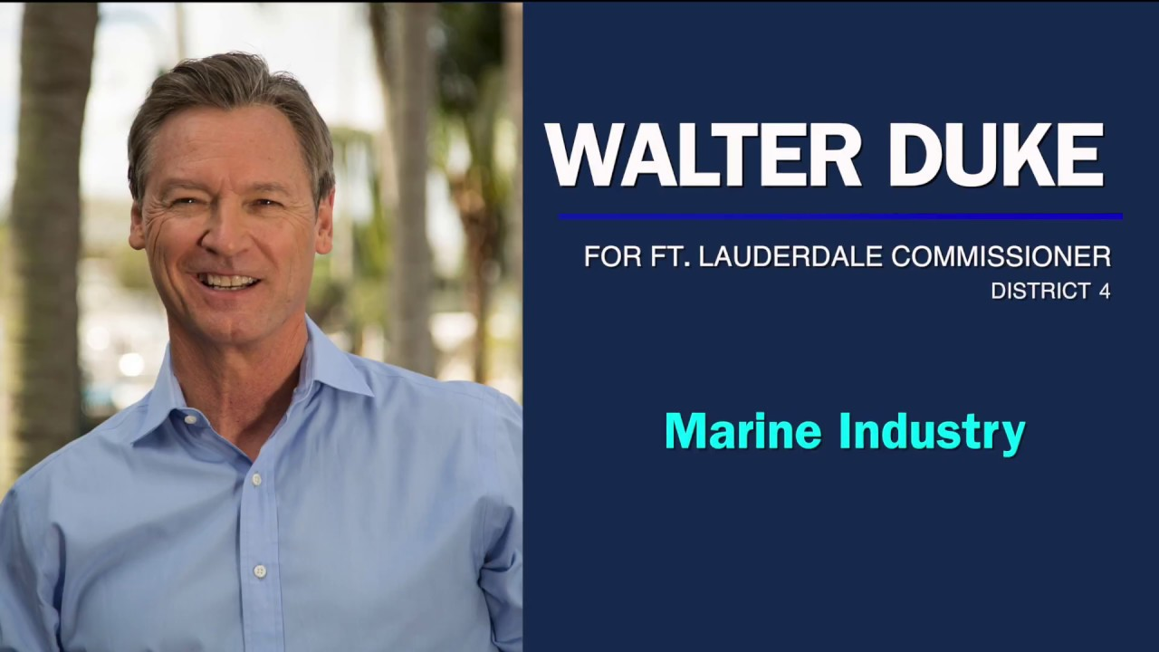 Walter Duke on the Marine Industry